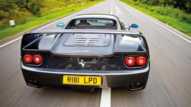 Ferrari F50 rear mesh