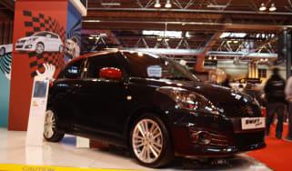 Suzuki Swift Sport SZ-R at Autosport show