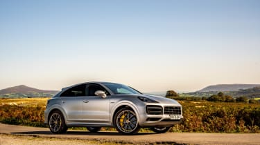 Porsche Cayenne Coupe Turbo S e-hybrid – quarter static