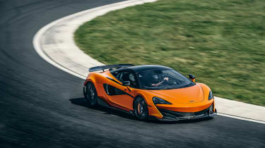 McLaren 600LT first drive - top