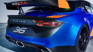 Alpine A110 GT4 - rear
