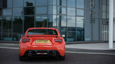 Toyota GT86 Orange Edition rear
