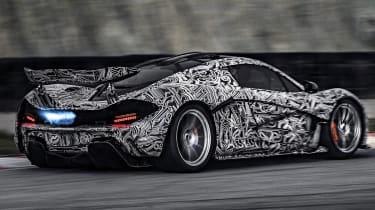 McLaren P1 testing