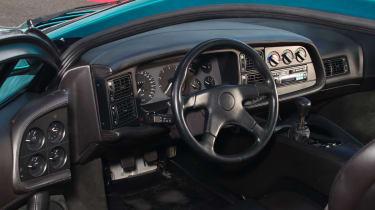 Jaguar XJ220 cockpit