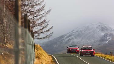 4x4 Wales test - A45 & Delta