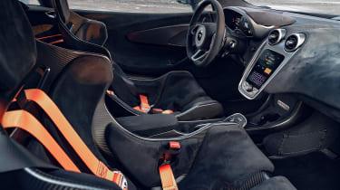 Novitec McLaren 600LT interior