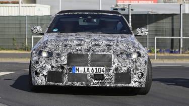BMW M4 Cabriolet spied 2020 - front