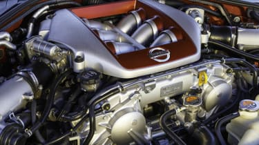 Nissan GT-R twin-turbo V6 engine
