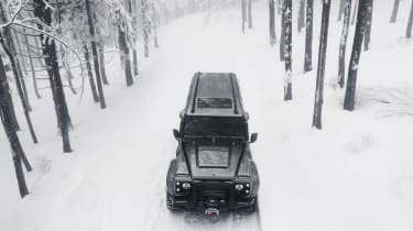 Ares Land Rover Defender – front