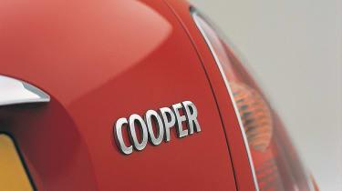 Mini Cooper R50 - taillight closeup
