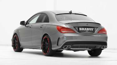 Brabus-tuned Mercedes CLA 45 AMG rear