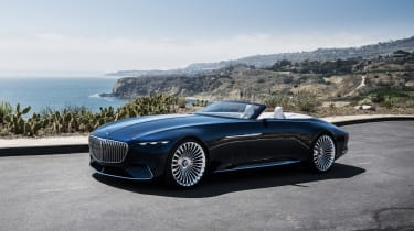 Vision Mercedes-Maybach 6 Cabriolet - front three quarter