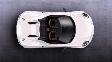 Alfa Romeo 4C Spider overhead