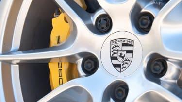 2012 Porsche 911 Carrera manual alloy wheel brakes
