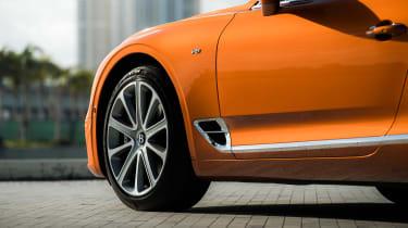 Bentley Continental GT V8 - vents