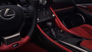 Lexus RC F Track Edition - console