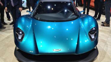 Aston Martin Vanquish Vision concept live - front