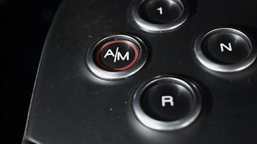 Alfa Romeo 4C gear selector switches