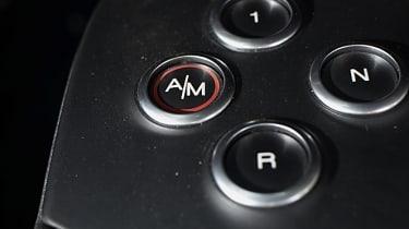 Alfa Romeo 4C gear selector switches