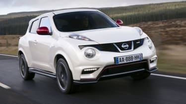 Nissan Juke Nismo review and pictures