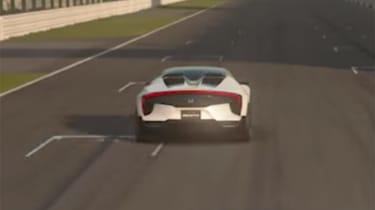 Honda Sports Vision Gran Turismo – rear
