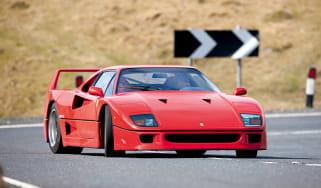 Ferrari F40 drift shot