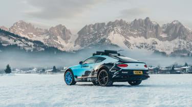 Pirelli winter tyres campaign - Bentley rear