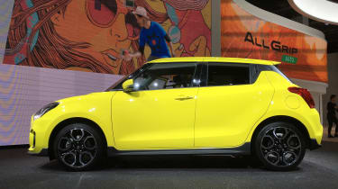 Suzuki Swift Sport frankfurt motor show side