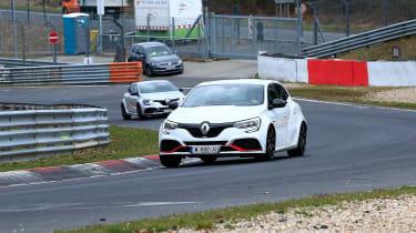 Renault Megane RS Trophy-R spied - front