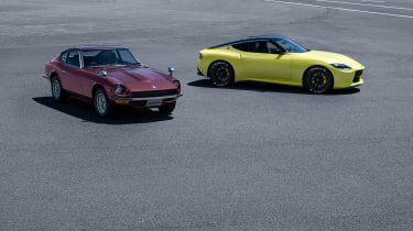 Nissan Z Proto old and new