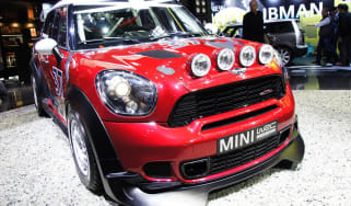 Mini Countryman WRC rally car