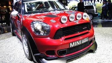 Mini Countryman WRC rally car
