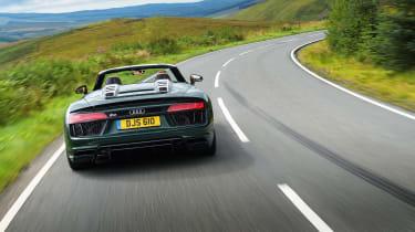 Audi R8 V10 Plus Spyder – rear