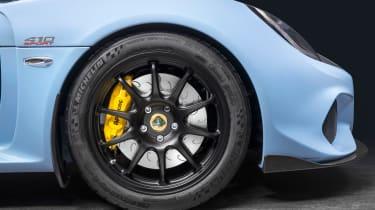 Lotus Exige 410 Sport – wheel