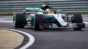 Mercedes-AMG Petronas F1 front 2