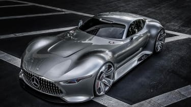 Mercedes AMG Vision Gran Turismo front view