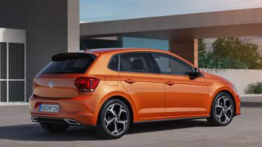 2017 Volkswagen Polo - R-Line rear static