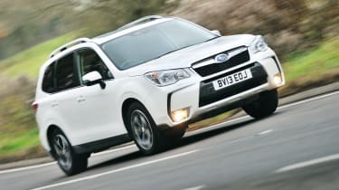 Subaru Forester 2.0 XT review