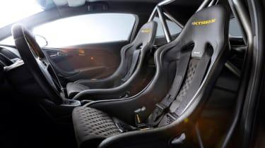 Vauxhall Astra VXR Extreme racing seats