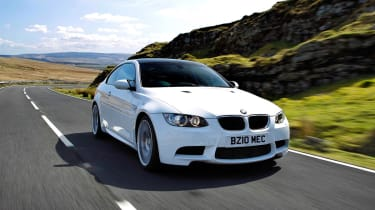 BMW M3 Competition scenery front tracking