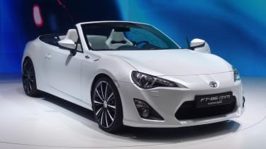 Toyota FT-86 Open Concept live show pictures