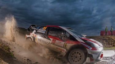 WRC round 9 - Rally Poland toyota 1