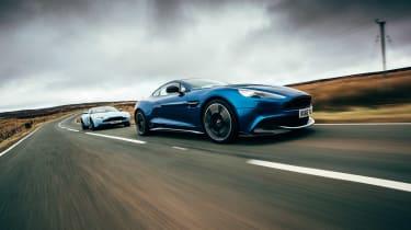 Aston Martin DB11 & Vanquish S - tracking