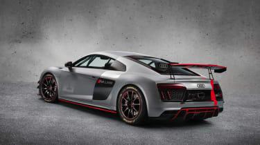 Audi R8 LMS GT4 rear three quarters