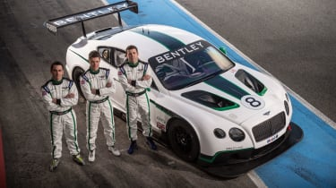 The three Bentley Drivers