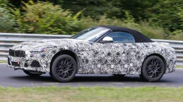 2018 BMW Z4 spotted - Side