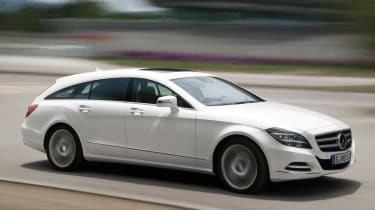 2012 Mercedes-Benz CLS Shooting Brake white