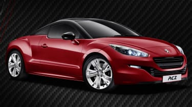 Peugeot RCZ Red Carbon pictures, details and UK prices
