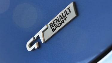 Renault Clio GT Line Renaultsport badge