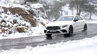 Mercedes-AMG CLS 53 - cornering